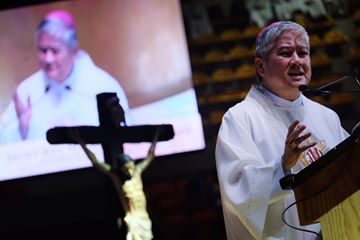 Villegas: 'God's mercy never runs out'