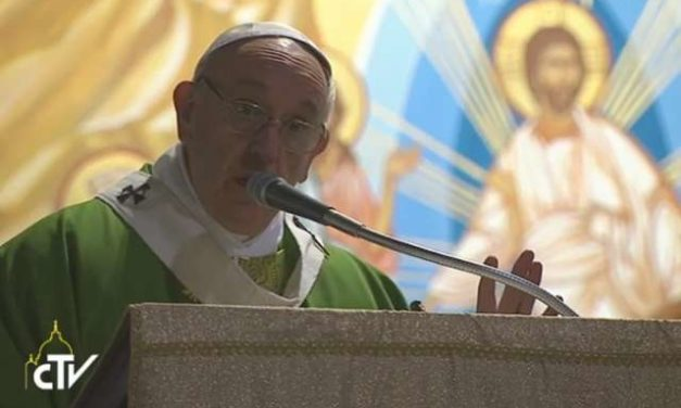 If you're tempted to gossip, 'bite your tongue,' Pope Francis says