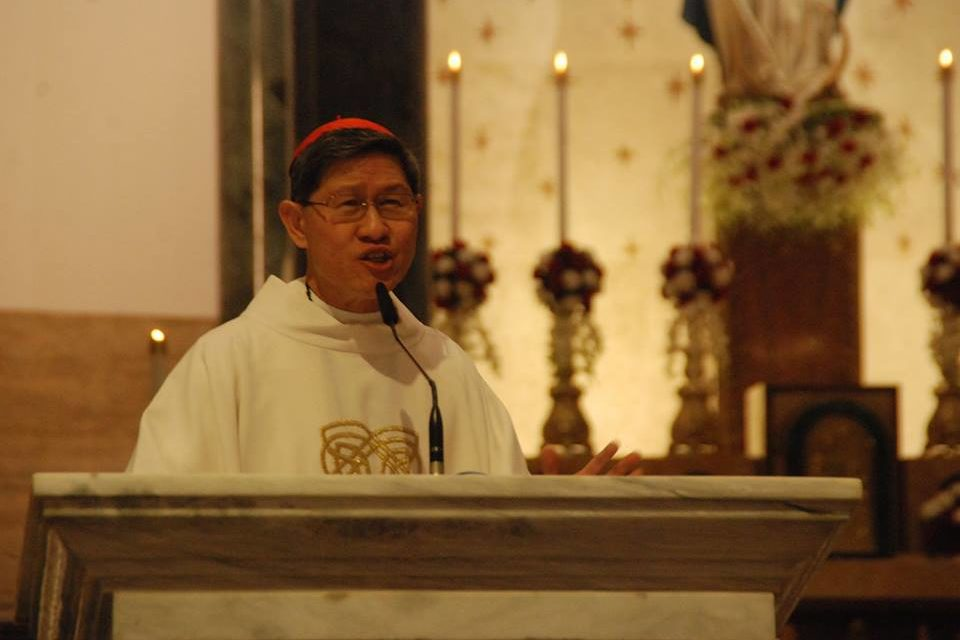 Tagle to faithful: 'Be disciples of mercy'
