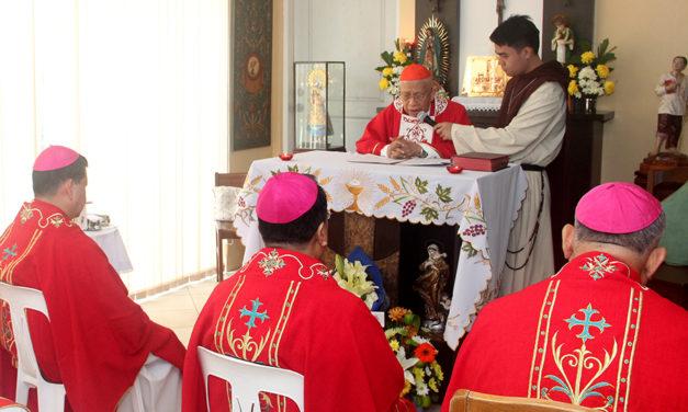 Cardinal Vidal turns 86