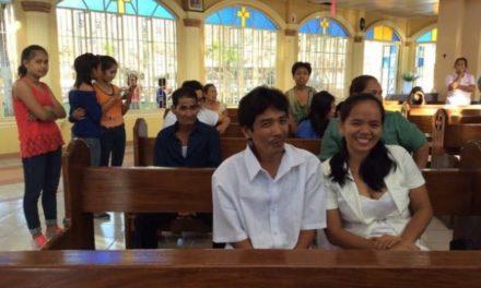 Friday is 'free wedding' day at this parish