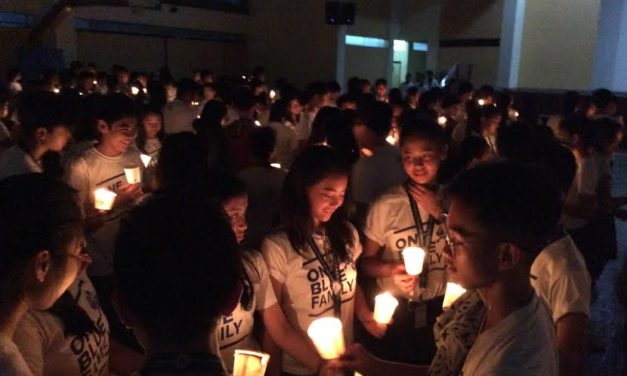 Iloilo students at 'Caravan for Life' call for for love not violence