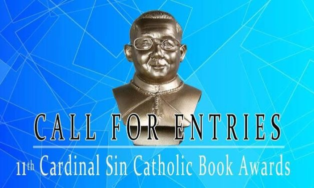 Nominees sought for 11th Cardinal Sin Catholic Book Awards