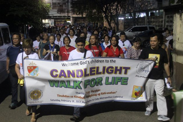 Cebu joins Walk for Life