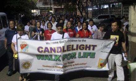 Cebu joins Walk for Life