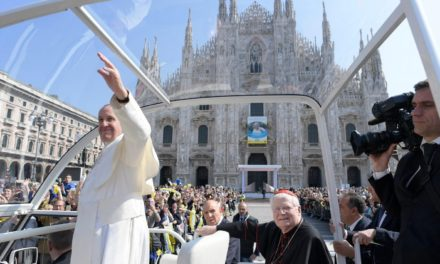 Don't fret about numbers, but your mission, Pope tells Milan religious