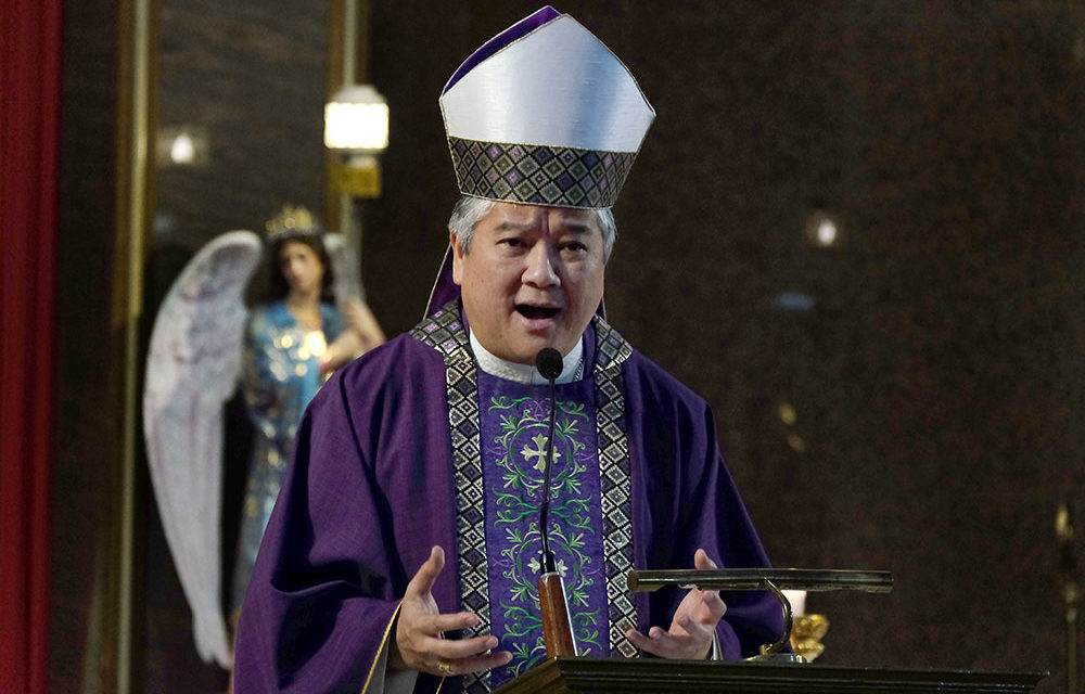 Archbishop urges tight watch on Cha-cha bid