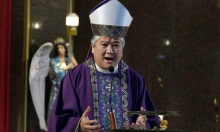 Archbishop urges tight watch on Cha-cha bid