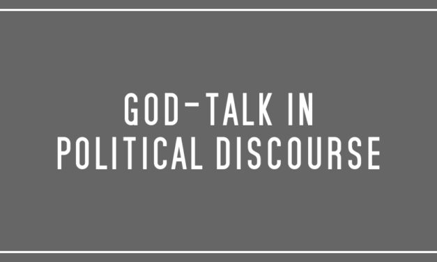 God-talk in political discourse