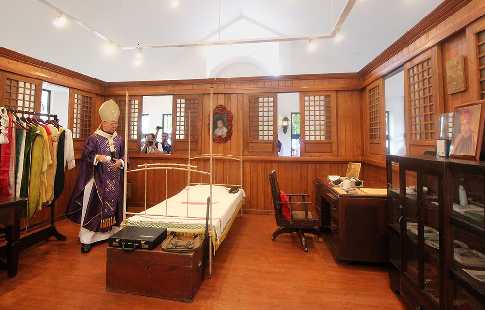 New Archbishop Camomot museum opens in Carcar City