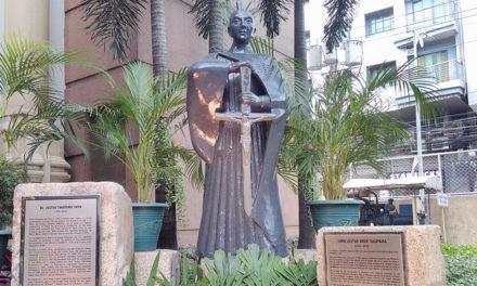 UST unveils historical marker for Samurai martyr