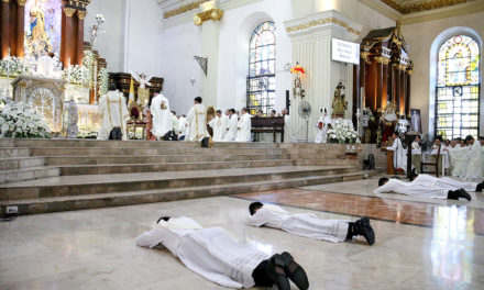 Malolos bishop ordains 4 new priests