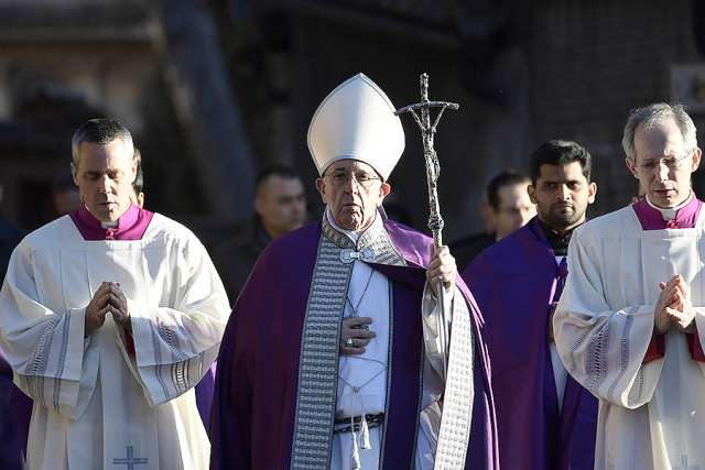 Pope Francis has a special message this Lent, and here it is