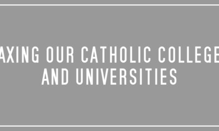 Taxing our Catholic colleges and universities