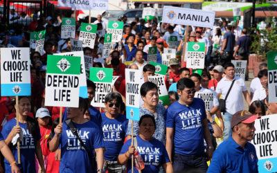 Thousands join simultaneous 'Walk for Life'