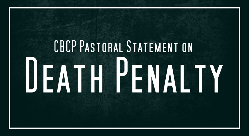 CBCP Pastoral Statement on Death Penalty