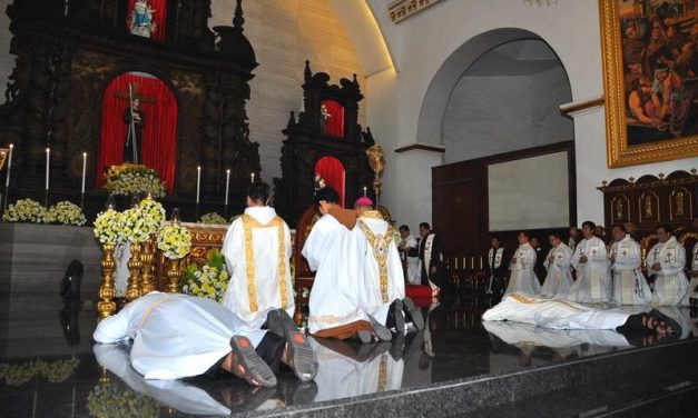 Franciscan priest, deacon ordained