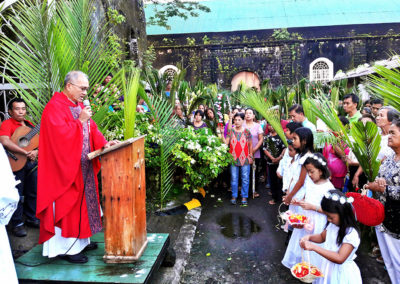 St. Rose of Lima Church, Bacacay, Albay. PIO ANTONIO BELLEN