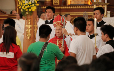 Church counts on you, archbishop tells youth