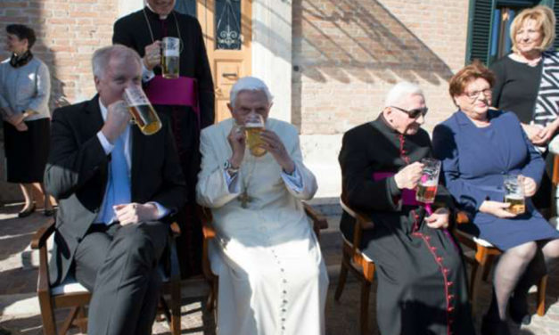 Benedict XVI's 90 years: 'I am grateful to God'