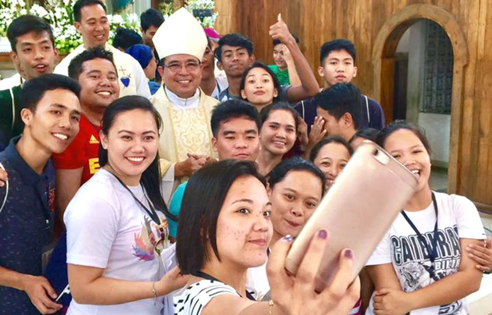 'Fight fake news with Good News,' bishop urges youth