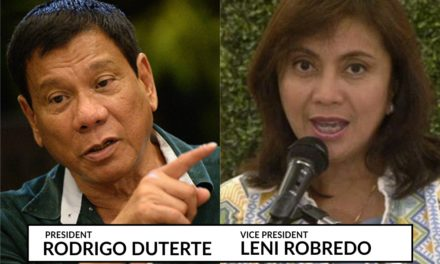 Bishop opposes impeaching Duterte, Robredo