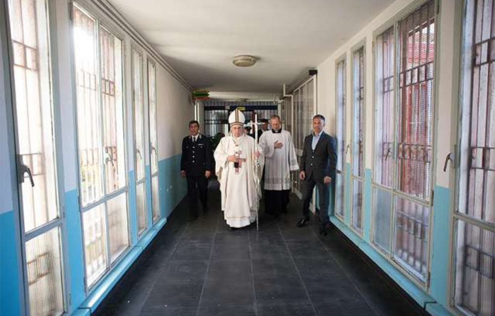 Pope Francis will visit a prison on Holy Thursday