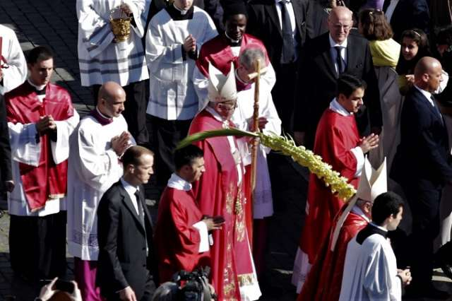 This Holy Week, look for Jesus in those who suffer, Pope says