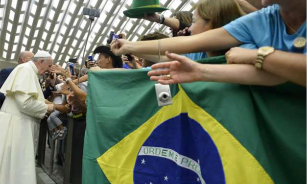 Pope Francis sends regrets to Brazil for not visiting this year