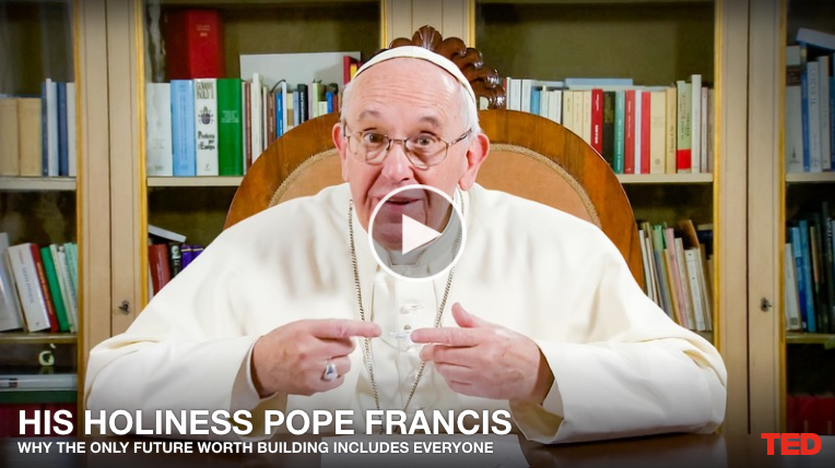 In TED talk, Pope says sowing solidarity will reap hope for the future