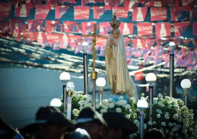 Procession of Our Lady of Fatima statue in Dagupan City. GLENN MUNOZ LOPEZ