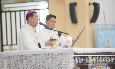 Priest calls for prayers to end martial law