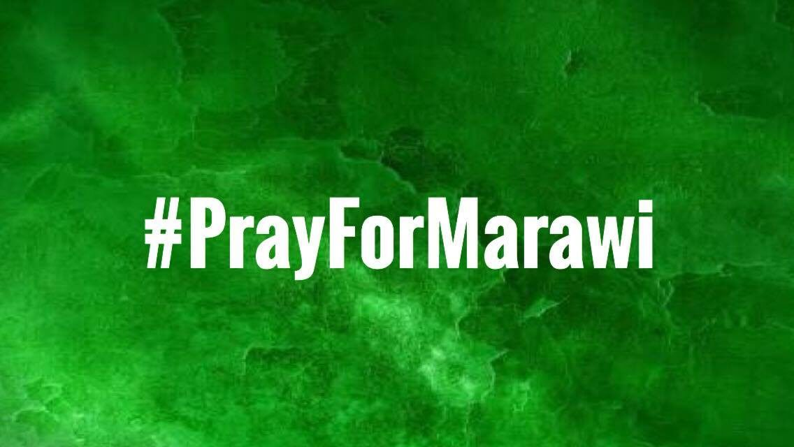 #Pray for Marawi