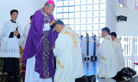 Zamboanga archdiocese gets 3 new priests
