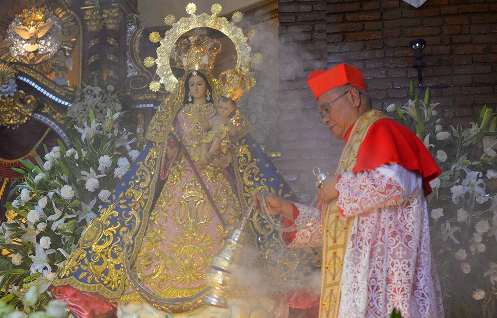 Antipolo diocese celebrates Nuestra Senora de Aranzazu coronation