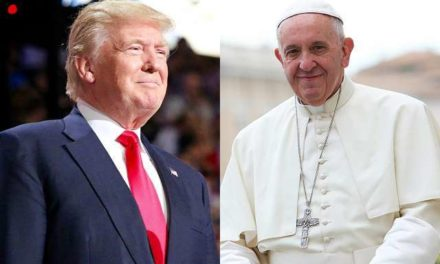 Pope says he hopes to find common ground with Trump