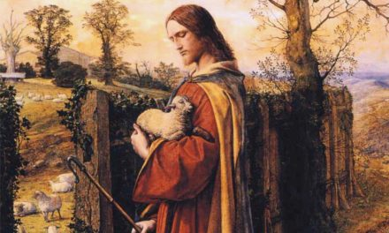 Jesus, the caring Shepherd and the gate  of the Sheepfold