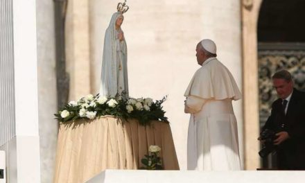 Join me at the feet of Mary, Francis asks ahead of Fatima trip