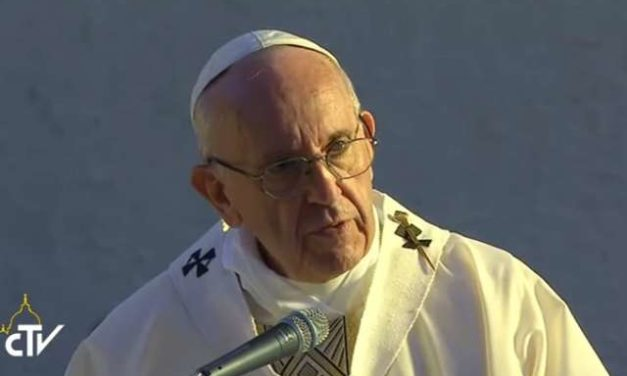 Always act with gentleness and respect, Pope Francis says