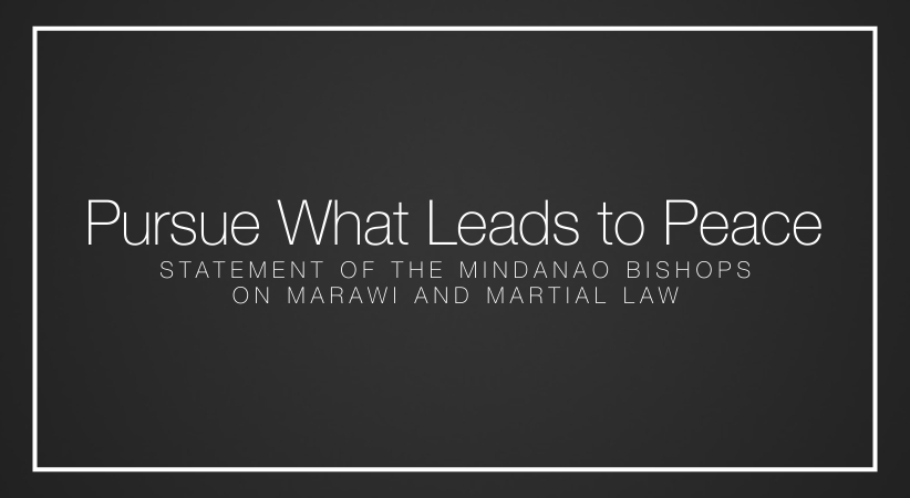 Pursue What Leads to Peace