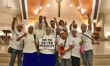 From Mindanao, anti-death penalty pilgrims reaches Manila