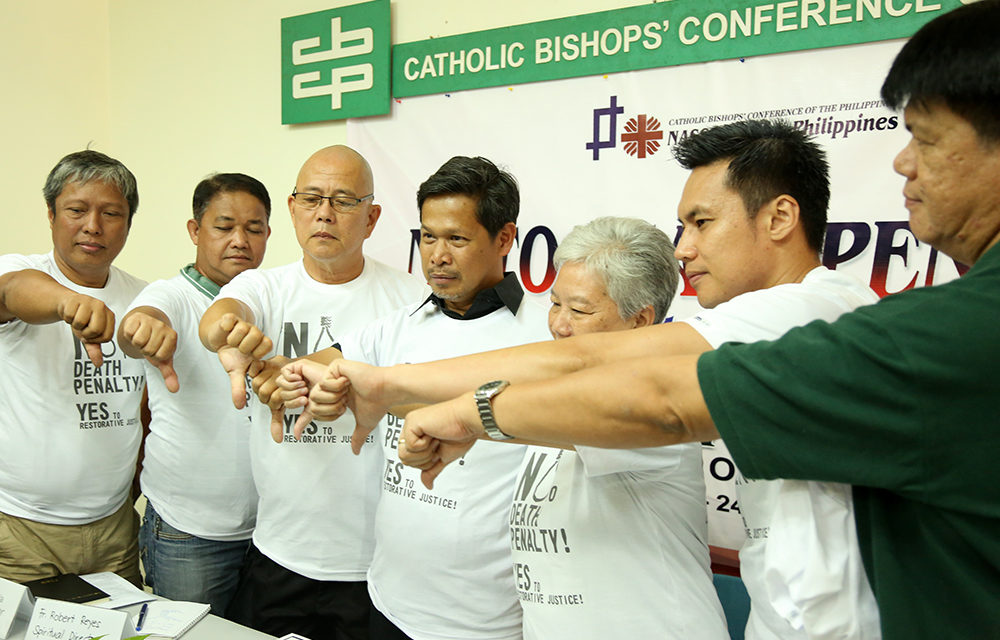 Anti-death penalty pilgrims set off on cross-country walk to Manila
