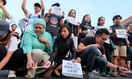 Bishop backs martial law in Mindanao but…