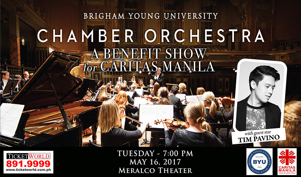 Acclaimed BYU Chamber Orchestra to hold benefit concert for Caritas Manila