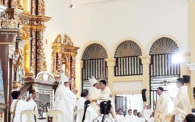 Palo welcomes 3 new priests, deacon