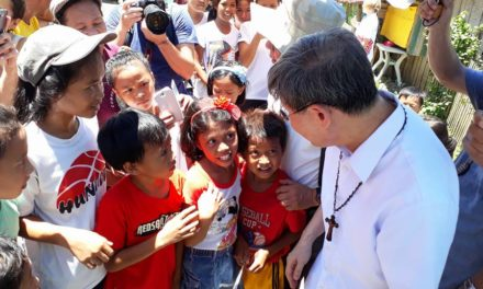 Tagle: 'Marawi evacuees need a listening ear'