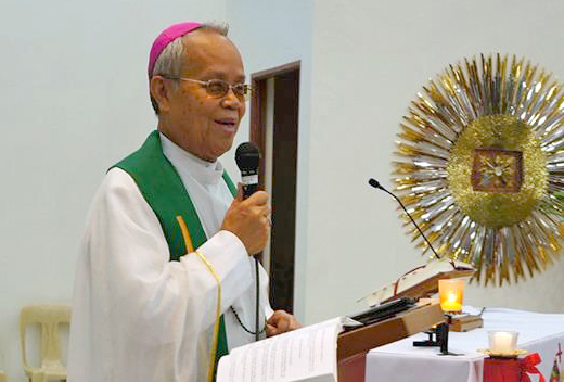 Military Bishop Leopoldo Tumulak dies at 72