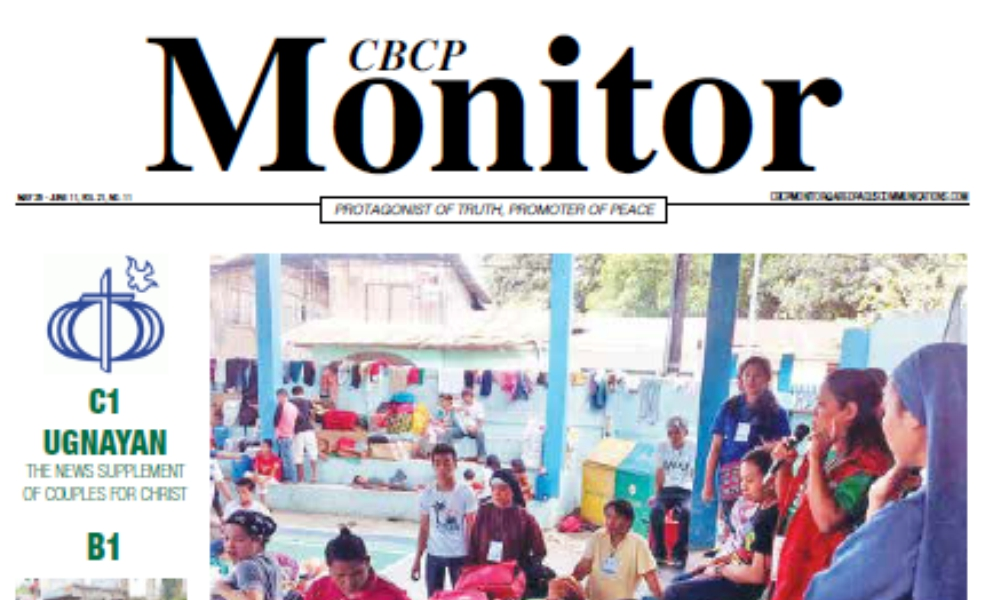 CBCP Monitor Vol 21 No 11