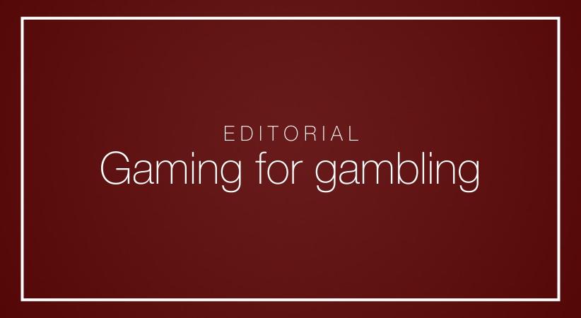 Gaming for gambling