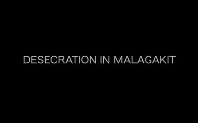 DESECRATION IN MALAGAKIT